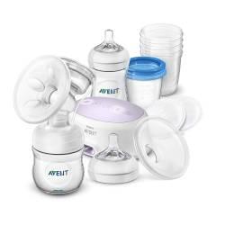 Philips Avent - Pack d'allaitement Tire lait électrique + biberons + accessoires