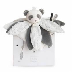 Doudou et Compagnie-Attrape rêve-Doudou Panda 26 cm