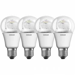 Osram - Ampoules LED Superstar E27 6W Blanc - Lot de 4