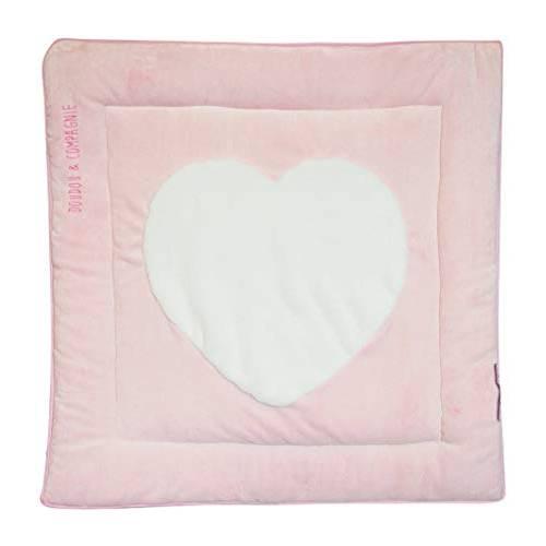 Doudou et Compagnie-Coeur Rose-Tapidou