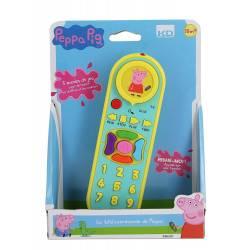 Peppa Pig - Télécommande éducative - 18 mois +