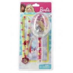 Brosse et Collier Barbie Dreamtopia