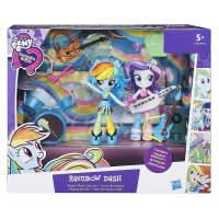 My Little Pony- Equestria Girls Mini Poupée Univers Rainbow Dash, B9484, Multi