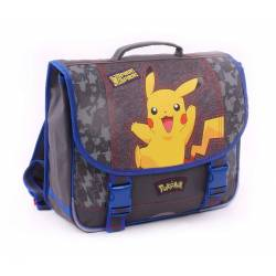 Cartable POKEMON PIKACHU 38 cm 2 compartiments