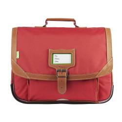 CARTABLE TANN'S LES UNIS MADRID ROUGE 38 CM