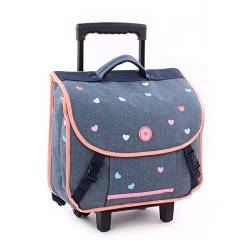 Cartable à Roulettes Milky Kiss Candy Shop - 37 cm