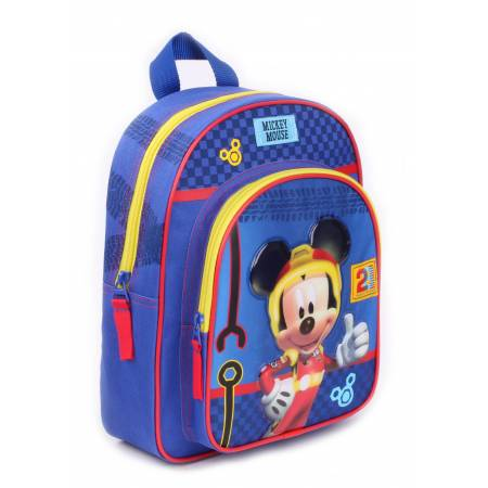Petit Sac à Dos Maternelle Mickey Crazy Speed - 31 cm