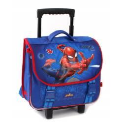 Cartable à Roulettes Spider-Man Protector - 38 cm