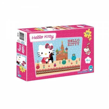 Puzzle Hello Kitty - A Moscou - 60 pièces