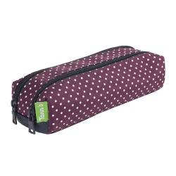Trousse 2 compartiments TANN'S MIKI BORDEAUX