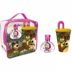 MASHA AND THE BEAR Eau de Toilette and Toy Gift Set, 50 ml