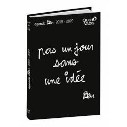 """Agenda Quo Vadis Ben """"Pas un jour sans une idée"""" 2019-2020"""