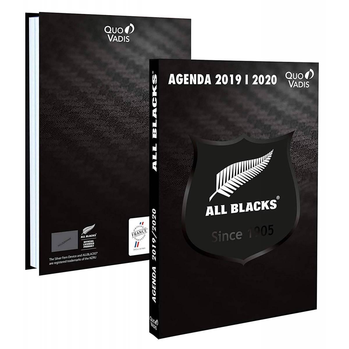 Agenda Quo Vadis Rugby All Blacks 2019-2020