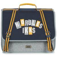 Cartable 38 cm Garçon IKKS Boy Kings Bleu Chiné