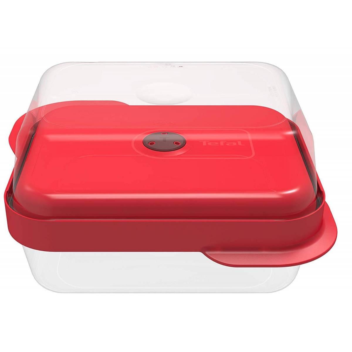 Lunch Box Tefal Set de 2 Boîtes Rectangulaire