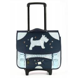 Cartable à Roulettes Chipie - 41 cm Bleu