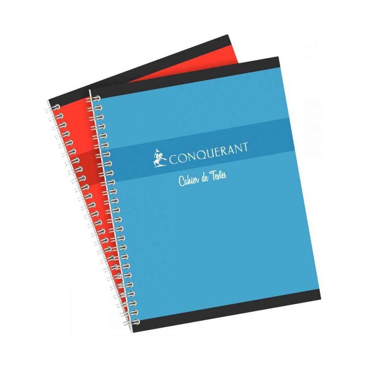 Cahier de Textes Conquerant