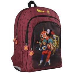 Clairefontaine Dragon Ball Sac à Dos Enfants, 44 cm, Bordeaux