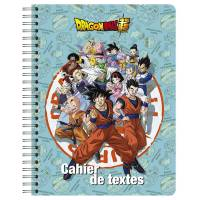 Cahier de Textes Dragon Ball Super 152 Pages - 17 x 22 cm