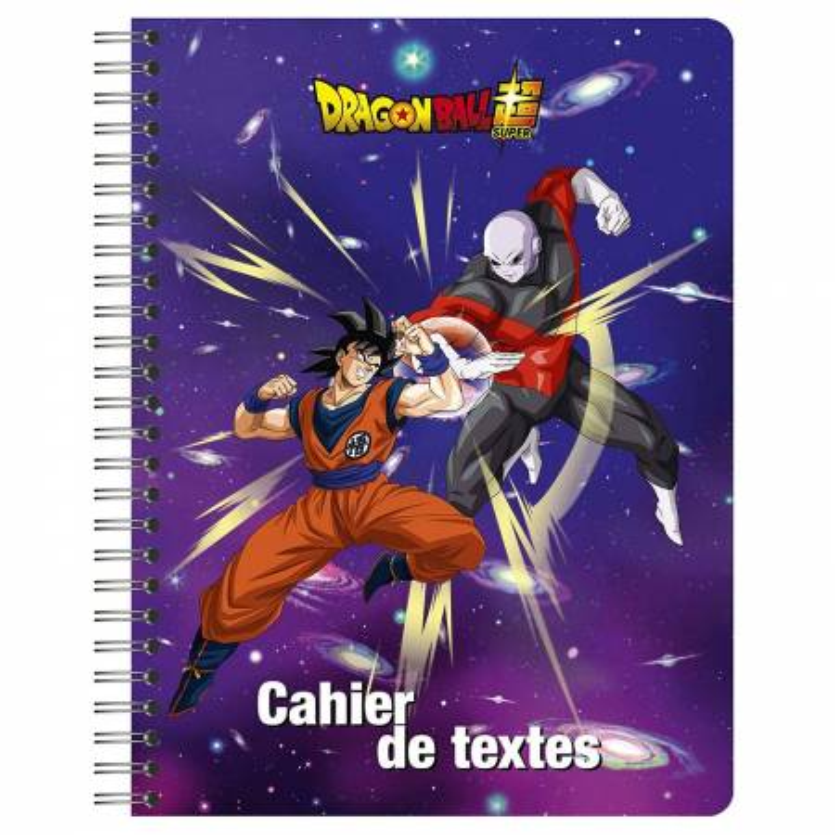 Cahier de Textes Dragon Ball Super 152 Pages - 17 x 22 cm