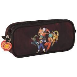 Dragon Ball Super Double Compartment Pencil Case - Bordeaux