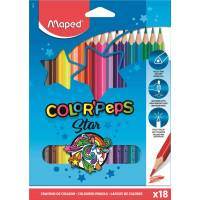 Crayons de Couleur Maped Color'peps Star x18