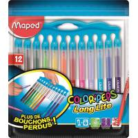 Feutres Maped Color'peps Long Life Inno x12