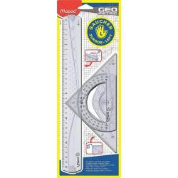 Kit Géométric Maped Spécial Gaucher 3 Pièces