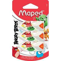 Gomme Maped Triangulaire Angry Birds x3