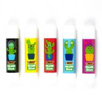 Colle Glue Stick Ecolutions Décors Bic 8 gr - Lot de 5