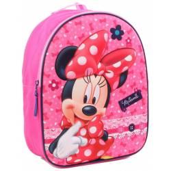 Sac à Dos Minnie Mouse 3D Dotty About Dots - 31 cm