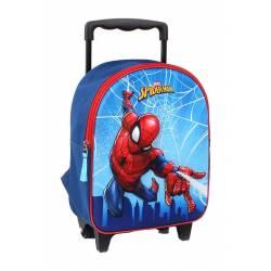 Sac à Dos à Roulettes Spider-Man 3D Web Head - 31 cm