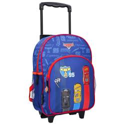 Cars Track Star Wheeled Backpack - 38 cm
