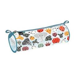 Trousse PVC Animascot Ronde - Safari
