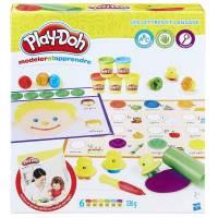 Pate à Modeler - Modeler et Apprendre Les Lettres et Langage - Play-Doh