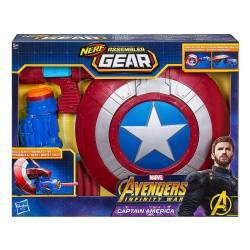 Nerf Assembler Gear Captain America - Marvel Avengers