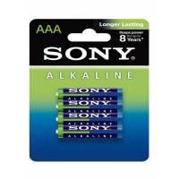 Sony alcaline Lot de 4 piles AA/LR6 1,5 V