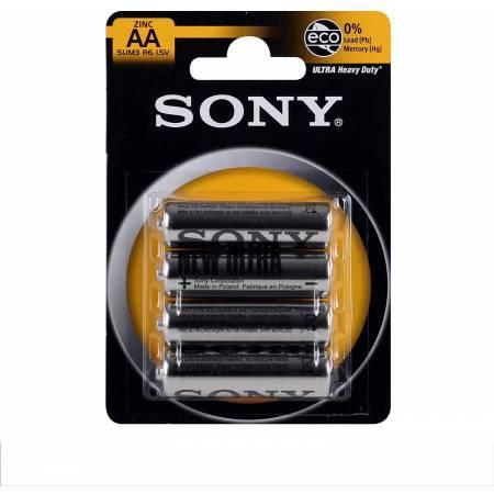 Lot de 4 Piles Sony AAA 1.5 V