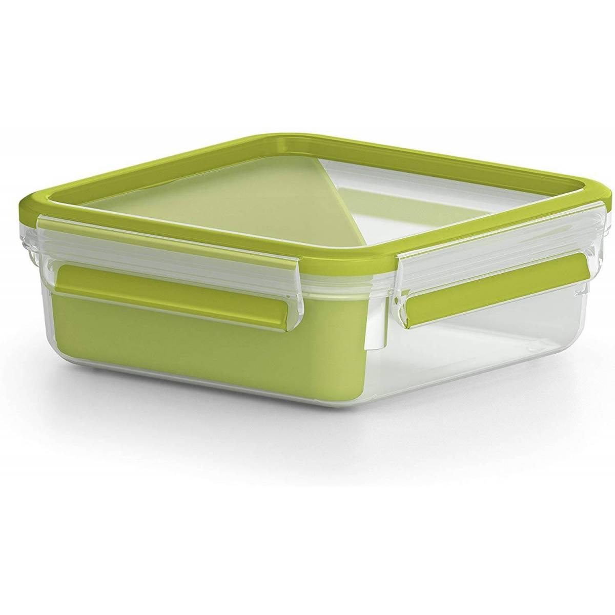 Boîte a Sandwich Tefal à Compartiments 0.85 L Vert