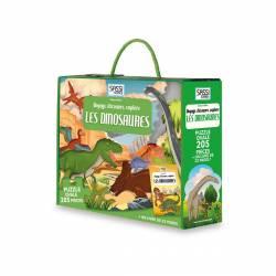 Livre et Puzzle Les Dinosaures