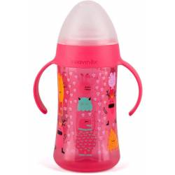 Biberon à Anses Suavinex Second Booo 270 ml Rose - +4 Mois