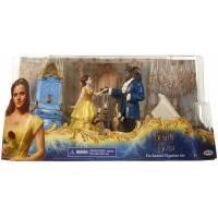 Ensemble de Figurines Enchantées La Belle et La Bête