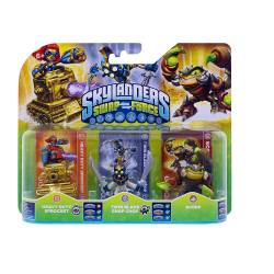 Figurine Skylanders : Swap Force - Scorp + Twin Blade Chop Chop + Heavy Duty Sprocket [Toutes plates-formes]