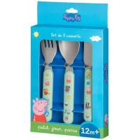 Set de Couverts Peppa Pig - x3