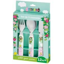 Set de Couverts Barbapapa - x3