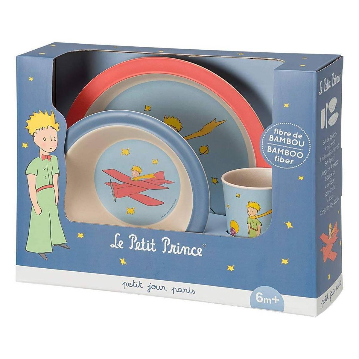 Petit Jour Paris Des proportions id/éales! Assiette b/éb/é bleue Peppa Pig