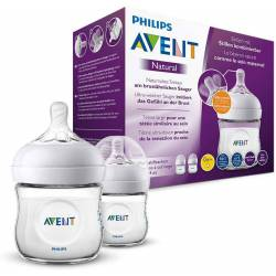 2 biberons Philips AVENT Natural 125ml