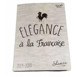 Agenda SHAMAN l'élégance à la française 2019/2020