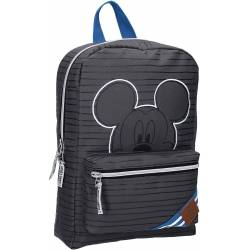Mickey Mouse Peep Gray Backpack - 33 cm