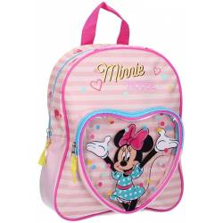 Sac à Dos Minnie Mouse Let's Party Rose -31 cm